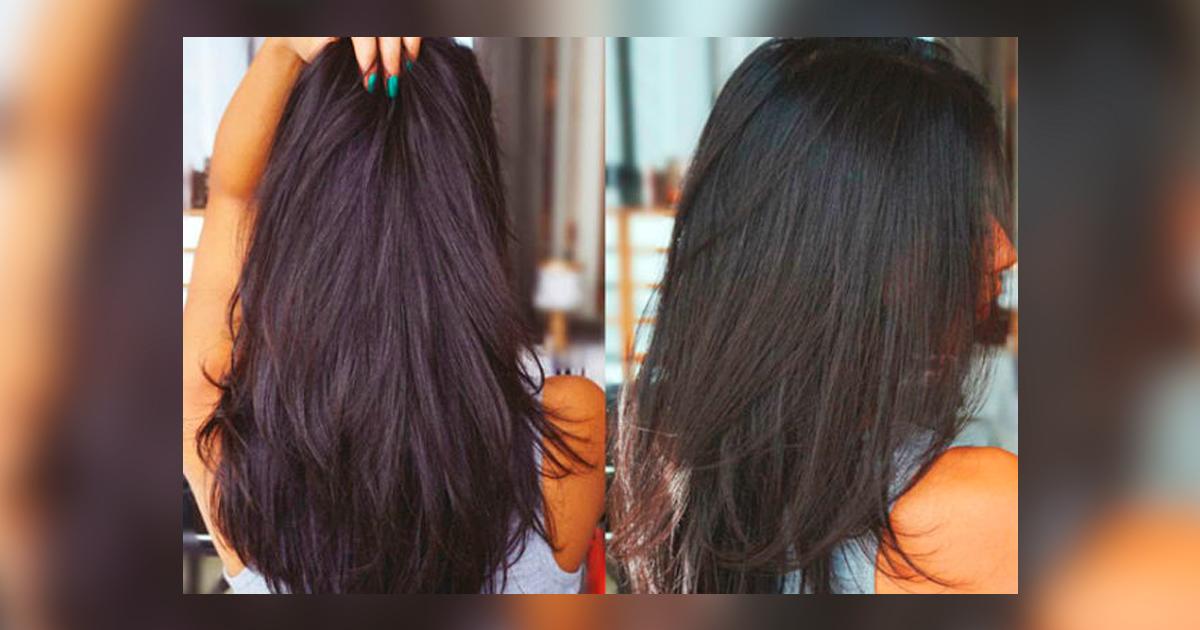 Как сделать чтобы волос стал густой 6