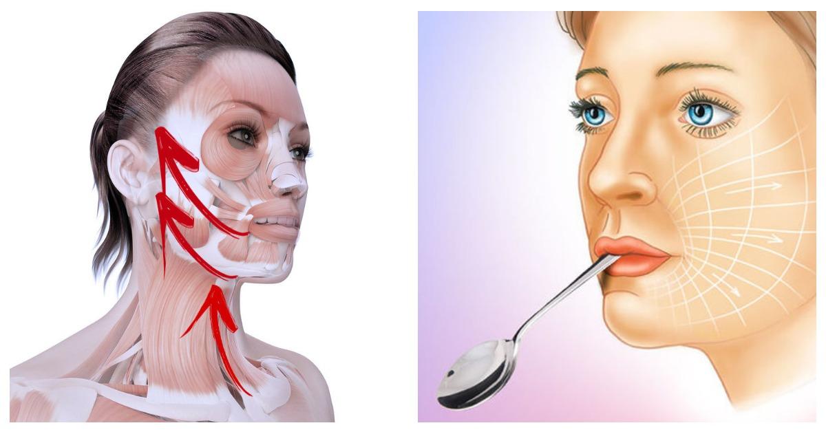 Картинки по запросу Круговая подтяжка лица: всего одно омолаживающее упражнение